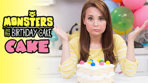 Nerdy Nummies Halloween Cakes Monsters Ate My Birthday Cake Cake Nerdy Nummies Youtube
