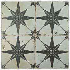 17 63 x17 63 royals estrella nero ceramic floor and wall tiles