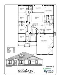 Dual Master House Plans by Latitudes 29 Dual Master Bedroom With Cabana Bath Vanwal Homes