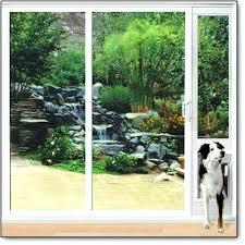 Vinyl Pet Patio Door Inspirational Patio Doggie Door And In X In Medium White Vinyl Pet