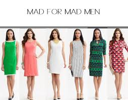 mad men dress dress like mad men