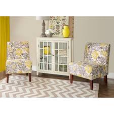 Floral Accent Chairs Living Room Floral Accent Chairs Chairs The Home Depot