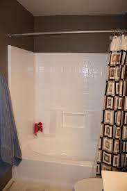 bathroom wondrous one piece tub shower units menards 42 bathroom