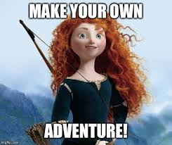 Make A Meme With Your Own Pic - merida brave memes imgflip