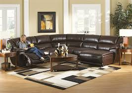 Seven Piece Reclining Sectional Sofa by 2017 Latest 6 Piece Leather Sectional Sofa