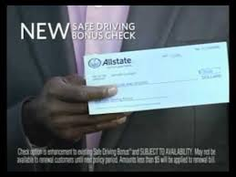 allstate commercial actress bonus check access youtube