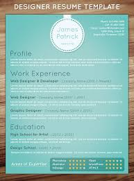 Game Designer Resume Resume Design Templates Free Resume Template For Graphic Designer