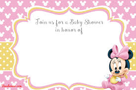 free minnie mouse printable invitations free printable