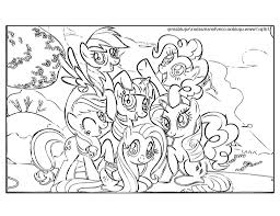 my little pony friendship is magic coloring pages pdf coloring