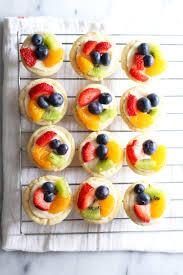 Pillsbury Sugar Cookies Halloween by Mini Sugar Cookie Fruit Tarts