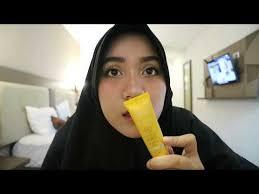 review tutorial makeup sehari hari wardah one brand make up tutorial review mia fauzia daily