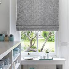 White Roman Blinds Uk Made To Measure Silver Blinds Window Blinds Uk Buy Online
