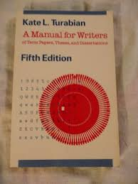 a manual for writers of term papers theses and dissertations