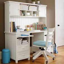Desk With Hutches Beadboard Basic Desk Hutch Pbteen