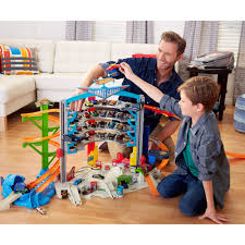 Plan Toys Parking Garage Nz by Wheels Ultimate Garage Walmart Com