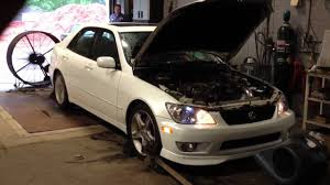 lexus is300 2013 2001 lexus is300 2jzgte swap single turbo pt67 18psi 420whp youtube