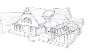 my house drawing back side photo page everystockphoto