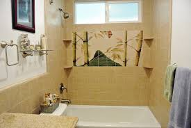 Bathroom Shower Tile Designs Bathroom Tile Murals Deir Honolulu Hi Artist