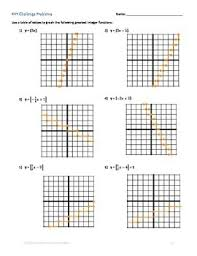 Graphing Square Root Functions Worksheet Function Greatest Integer Function Worksheet Graphing Evaluating