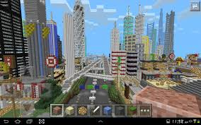 Mincraft Maps Minecraft Pe Gigantic City The Biggest City In Pocket Edition