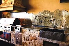outdoor kitchen backsplash outdoor kitchens part 1 appliances countertops cabinets flooring