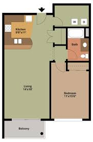 1 bedroom apartment floor plans archives the overlook on prospect floor plan style c