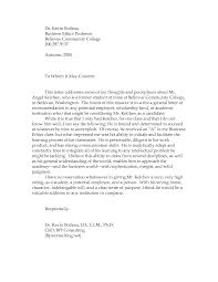 letter of recommendation professor student cover letter templates