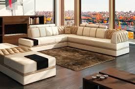 canapé d angle en cuir marron mobilier prive avis mobilier privé