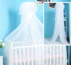 baby crib mosquito net nursery bed canopy netting hanging dome