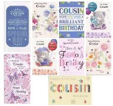 cousin birthday card traditional cousin birthday cards various designs 1st p p