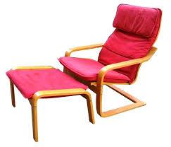 Chair With Ottoman Ikea Ikea Poang Ottoman Footstool Cushion Gray New Footstool Not