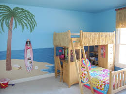 bedroom twin over full bunk bed with steps and hidden storage