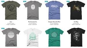 Design For T Shirt Ideas 12 Sites That Sell Cool T Shirts For Designers Creative Market Blog