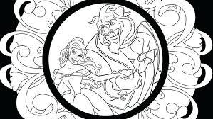 beauty beast coloring u2013 corresponsables