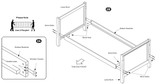 Assembling A Bed Frame How To Assemble A Bed Frame How To Assembly The Scribbles