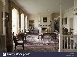 Dining Room At The Modern The Dining Room At Gunby Hall Lincolnshire The Room Was Created