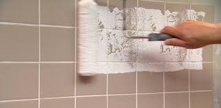 Tiling The Bathroom Floor - how to paint over ceramic tile in a bathroom today u0027s homeowner