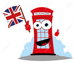 English Flag Telephone Booth Clipart English Flag Pencil And In Color