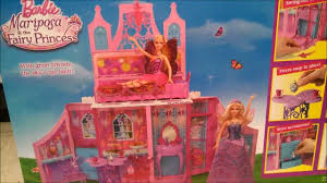 barbie mariposa fairy princess doll house malibu dream house style