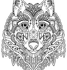 wolf face coloring page coloring pages wolf ziho coloring