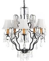 Iron Chandelier With Crystals Great Deals On Wrought Iron Chandeliers