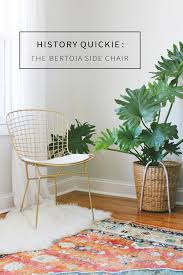 Bertoia Dining Chair Design Decoded Harry Bertoia And His Side Chair Annabode Co