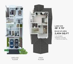 terraced house floor plans floor plan damansara hills