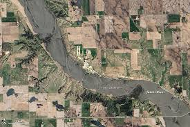 South Dakota rivers images Flooding along the james river south dakota natural hazards jpg