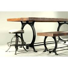 pipe table legs kit dining table modern reclaimed wood dining table pipe legs kit