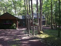 kegelman u0027s log home in bear creek lake homeaway jim thorpe