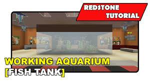 working aquarium fish tank