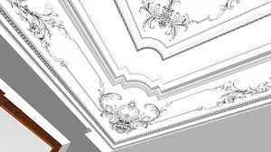 living room project plaster stucco decoration cornice molding