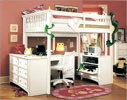 Bunk Bed Computer Desk Loft Beds With Desk Stunning Size Bunk Bed With Desk