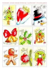245 best watercolor christmas card ideas images on pinterest